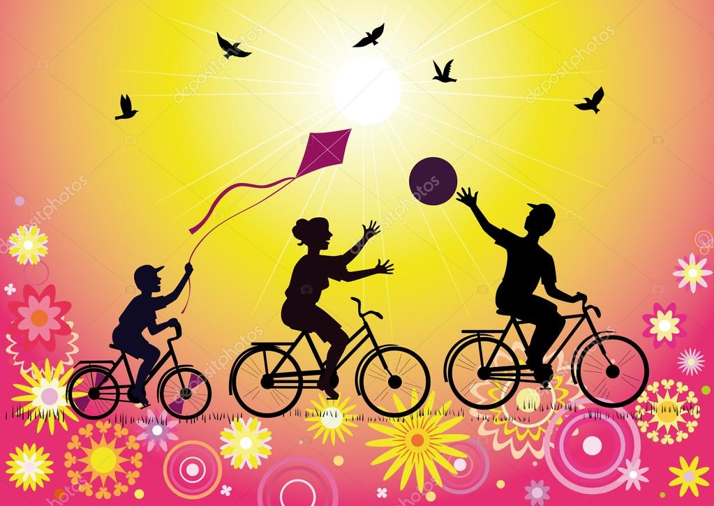 depositphotos_11292237-stock-illustration-sports-family-on-bicycles